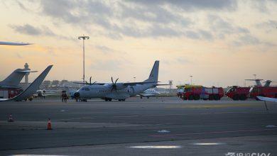 Photo of Voorzorgslanding toestel Portugese luchtmacht op Schiphol