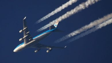 Photo of KLM-Jumbojet strandt in Nairobi