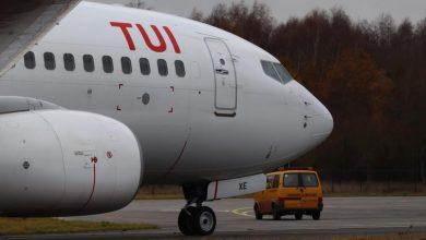 Photo of TUI 737's voor AELS aangekomen op Twente Airport