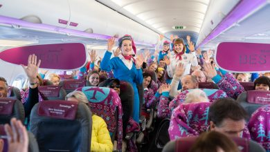 Photo of Eurowings steekt passagiers in Mart Smeets-trui