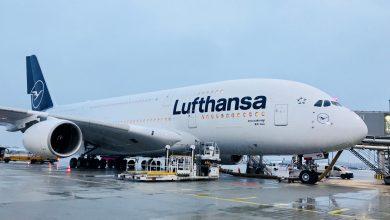 Photo of Eerste A380 voor Lufthansa in nieuw jasje landt in München | Foto's