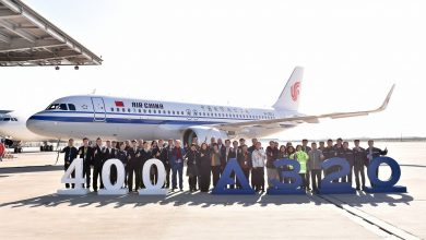 Photo of Airbus ziet 400e A320 uit Chinese fabriek rollen