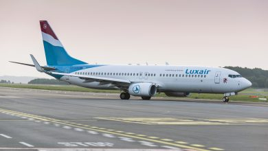 Photo of Van lege huls tot complete Boeing 737 voor Luxair | Video