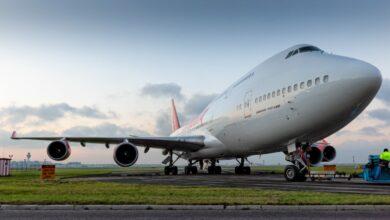 Photo of Ruim 6000 toeschouwers bij 747-transport Corendon