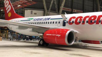 Photo of Corendon 737 aangekomen op Curaçao