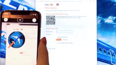 Photo of KLM-animatie in mobiel bankieren ING