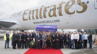Photo of Emirates neemt 190e en laatste 777 in ontvangst   Video