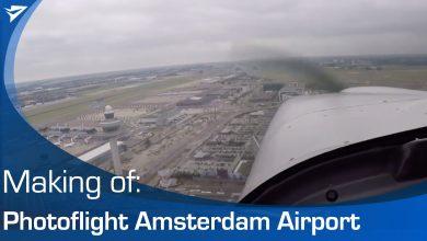 Photo of Video: vele rondjes over Schiphol vliegen voor foto's
