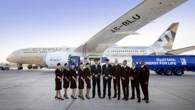 Photo of Etihad met biobrandstof aangedreven 787 naar Amsterdam