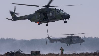 Photo of Winterse oefening Nederlandse en Duitse helikopters | Foto-artikel