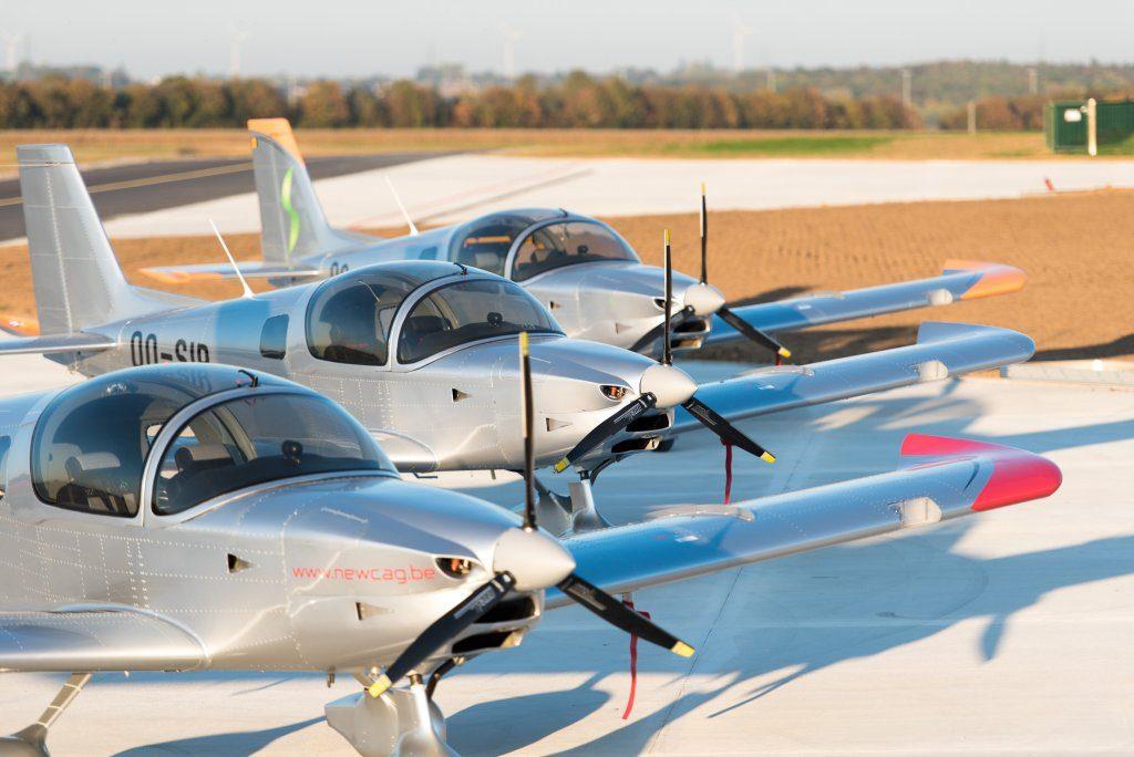 Sonaca 200 line-up, © Sonaca Aircraft