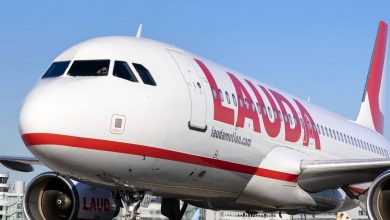 Photo of Mislukte start Laudamotion A320 op Londen Stansted na 'luide knal'