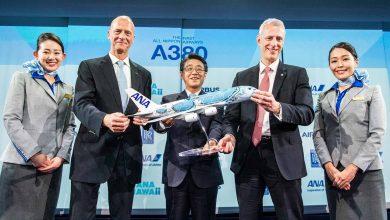 Photo of ANA neemt eerste A380 in ontvangst