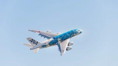 Photo of ANA's A380 mag een half uurtje van de parkeerplaats af