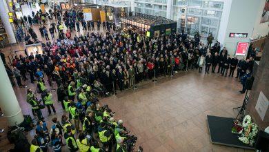 Photo of Minuut stilte op Brussels Airport ter herdenking aanslagen