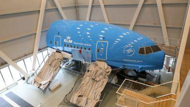 Photo of Nieuwe KLM-trainingsfaciliteit met Boeing 737 en 777 cabine