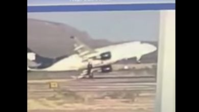 Photo of Vleugel E-170 raakt grond tijdens take-off | Video