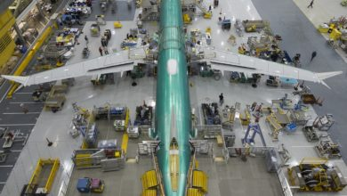 Photo of 'Boeing hervat 737 Max productie in mei; 1 maand later door corona'