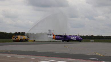 Photo of Eerste vlucht tussen Groningen en Kanaaleilanden vertrokken