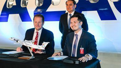 Photo of Qazaq Air neemt eerste eigen Q400 in ontvangst