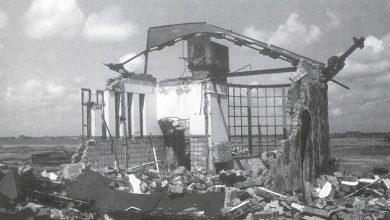 Photo of Schiphol tijdens de Tweede Wereldoorlog