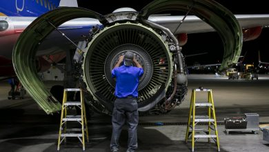 Photo of 'Parkeren Boeing 737 MAX kost 2000 dollar per maand'