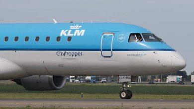 Photo of 'Embraer KLM keert terug naar Schiphol met open deur-indicatie'