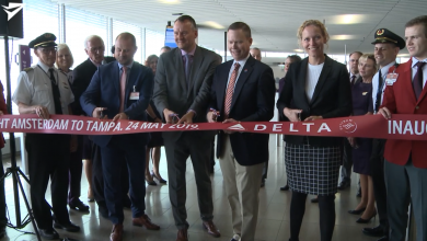 Photo of Inaugurele Delta-vlucht naar Tampa | Video