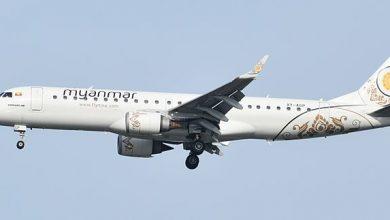 Photo of Myanmar Airlines-toestel landt zonder neuswiel | Video