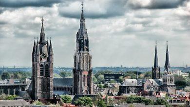 Photo of Missing man formation boven Delft als eerbetoon omgekomen piloot