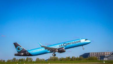 Photo of Eerste A321neo voor La Compagnie vliegt oceaan over