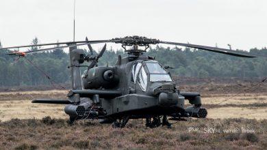 Photo of Nederlandse Apaches aan de grond gehouden