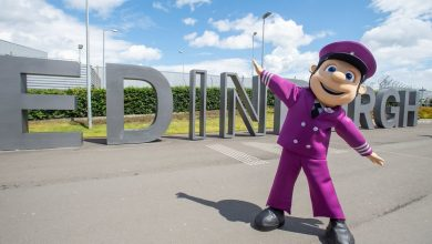 Photo of Edinburgh Airport heeft een nieuwe mascotte