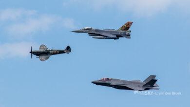 Photo of F-35 klaar om uit te vliegen vanaf Volkel