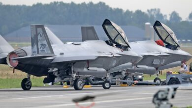 Photo of Nederlandse F-35 keert na een maand terug naar de VS