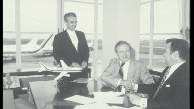 Photo of Mede-oprichter Airbus Roger Béteille overleden