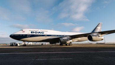 Photo of Royal Air Force en Boeing 747 voeren samen fly-by uit