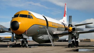 Photo of Lockheed L-188C landt zonder landingsgestel | Video