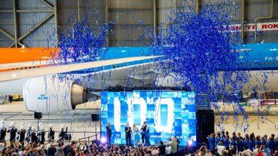 Photo of KLM trapt 100-jarig jubileum af   Video