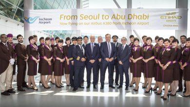 Photo of Etihad zet voor het eerst A380 in naar Seoul