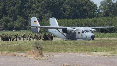Photo of Militairen oefenen boven Zuid- en Oost-Nederland