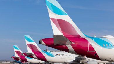 Photo of Eurowings haalt Airbus-toestellen van de parkeerplaats