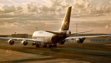Photo of '747 Lufthansa keert om na probleem met landingsgestel'