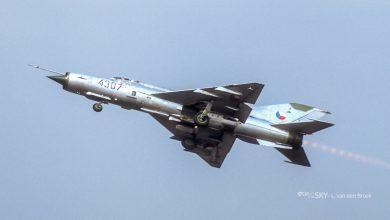 Photo of Unieke filmbeelden Tsjecho-Slowaakse MiG's tijdens Koude Oorlog