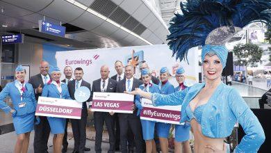 Photo of Eurowings vliegt vanuit Düsseldorf naar Las Vegas