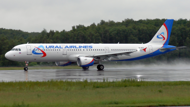 Photo of Ural Airlines A321 maakt noodlanding in maïsveld