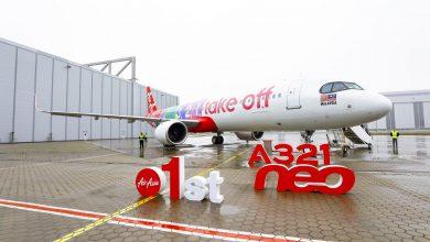 Photo of AirAsia neemt kleurrijke eerste A321neo in ontvangst
