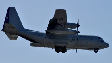 Photo of C-130 Hercules van Chileense luchtmacht vermist
