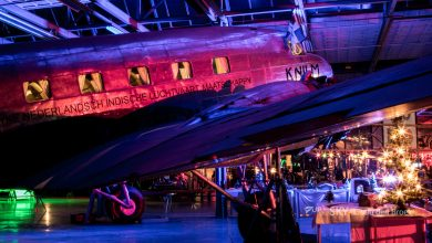 Photo of Lichtfeest in Nederlands Transport Museum