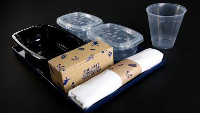 Photo of KLM test nieuw recycle systeem voor cateringmateriaal